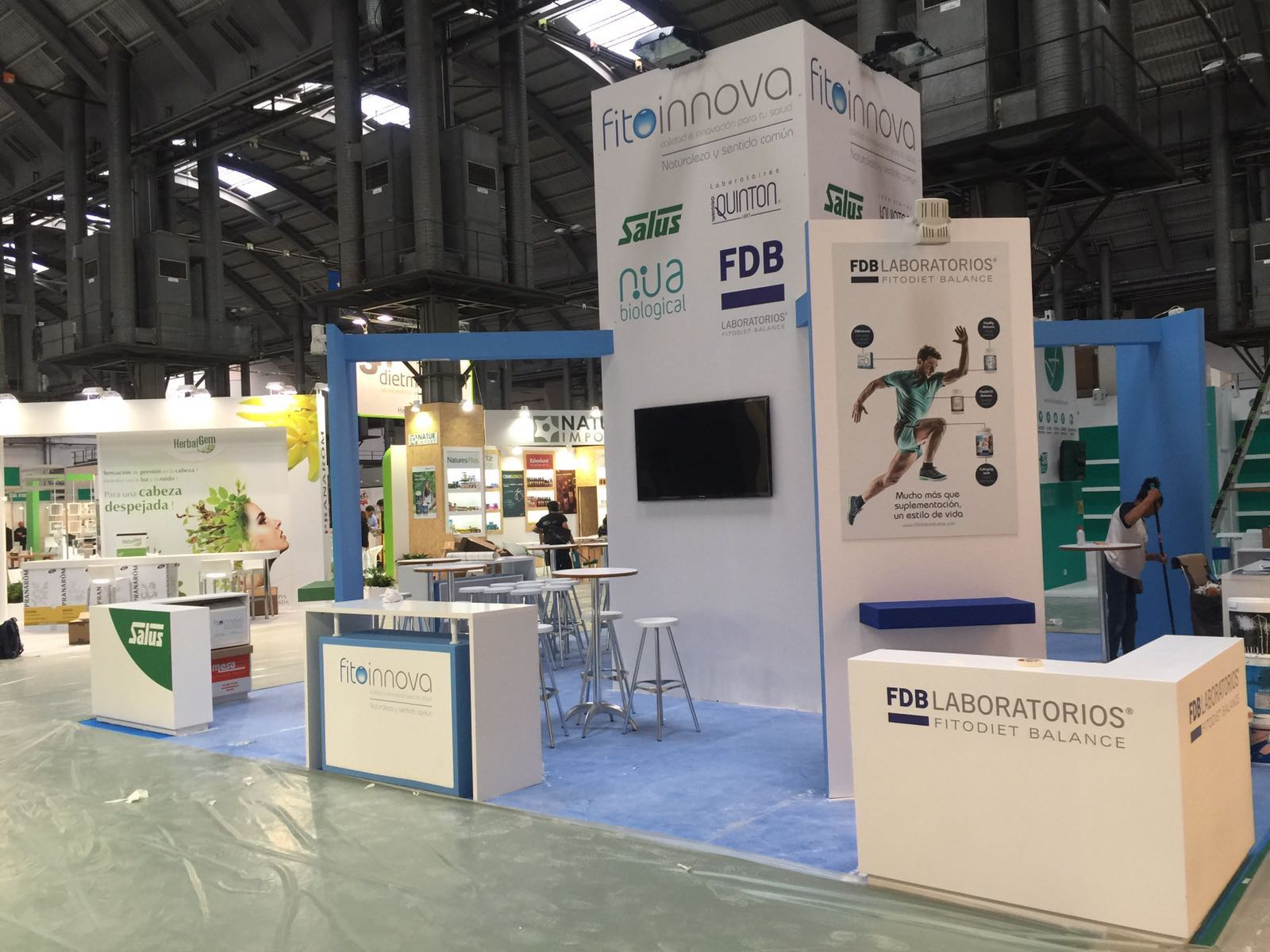Feria expo eco salud en barcelona montju c nivel 2 stands j p carpinteros - Carpintero en barcelona ...